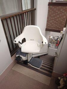 椅子が回るので、安心して乗り降りできます
